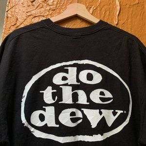 Vintage 90s Mountain Dew Do The Dew Promo T-Shirt